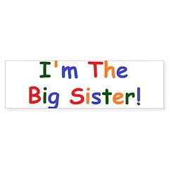 I'm the Big Brother Bumper Sticker