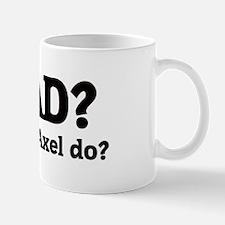 What would Axel do? Mug