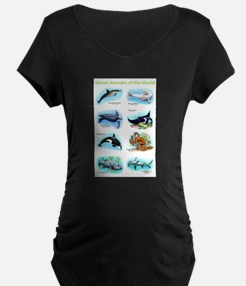 Ocean Animals of the World T-Shirt