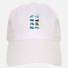 Ocean Animals of the World Baseball Baseball Cap