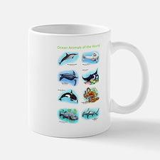 Ocean Animals of the World Mug