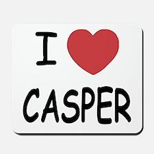 I heart Casper Mousepad