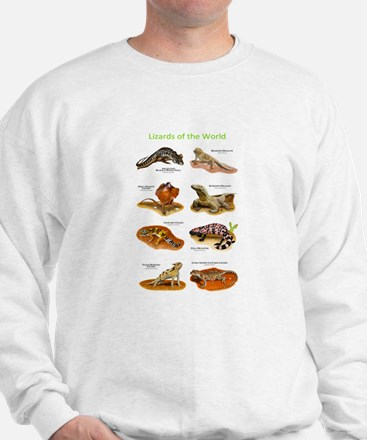 Lizards of the World Sweatshirt
