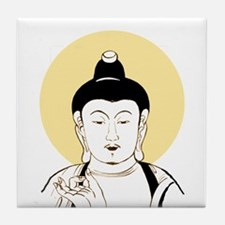 Vintage Buddha Tile Coaster