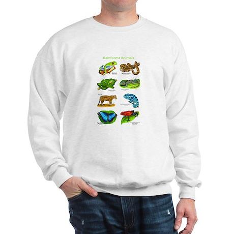 Rainforest Animals Sweatshirt