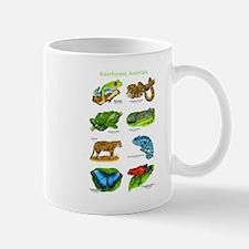 Rainforest Animals Mug