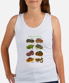 Snakes of the World Women's Tank Top