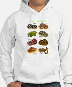 Snakes of the World Hoodie