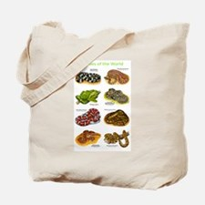 Snakes of the World Tote Bag