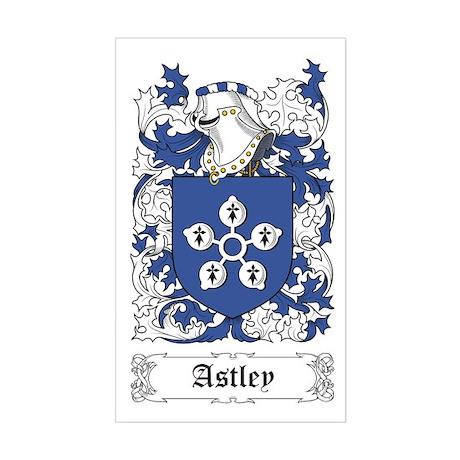 Astley Sticker (Rectangular)