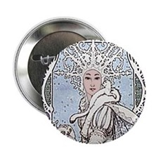 "Snowflake Queen 2.25"" Button (10 pack)"