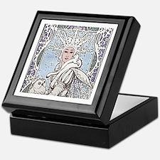 Snowflake Queen Keepsake Box