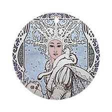 Snowflake Queen Ornament (Round)