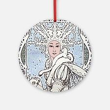 Snowflake Queen Ornament (Round)