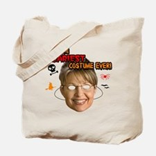 Palin Scary Costume Tote Bag