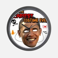 Scariest Costume Obama Wall Clock