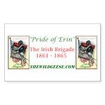 Pride of Erin - Rectangle Sticker