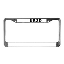 ub3r License Plate Frame