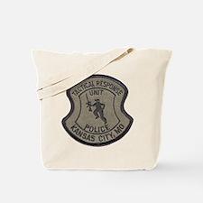 Kansas City Police Tactical U Tote Bag