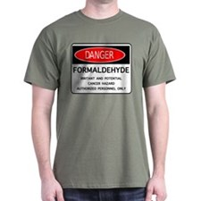 2-DangerHCHO F DRK T-Shirt