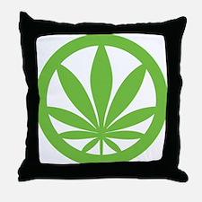 Legalize Marijuana Now Throw Pillow