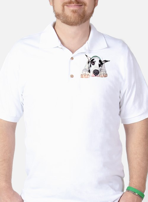 Great Dane Shy Harlequin Golf Shirt