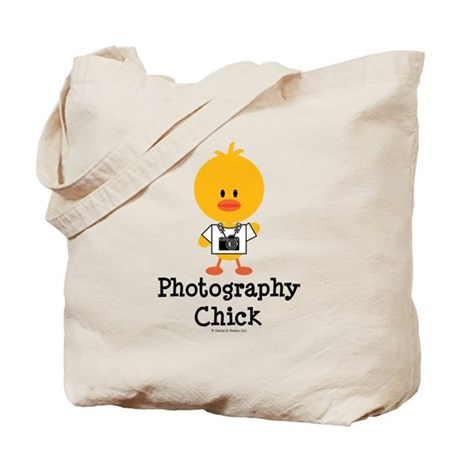 Photography Chick Tote Bag