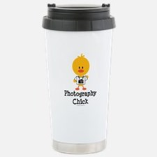 Photography Chick Stainless Steel Travel Mug