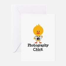 Photography Chick Greeting Cards (Pk of 10)