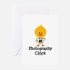 Photography Chick Greeting Cards (Pk of 20)