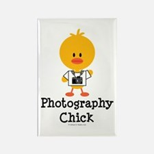 Photography Chick Rectangle Magnet (100 pack)