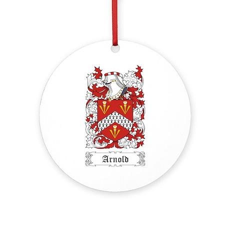 Arnold Ornament (Round)