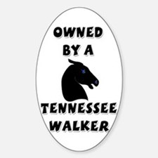 Tennessee Walker Oval Decal