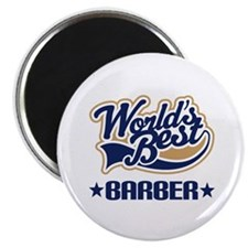 Worlds Best Barber Magnet