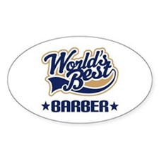 Worlds Best Barber Decal