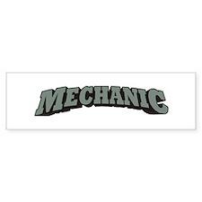 Mechanic Bumper Sticker