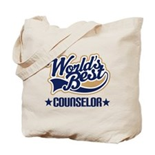 Worlds Best Counselor Tote Bag