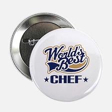 """Worlds Best Chef 2.25"""" Button"""