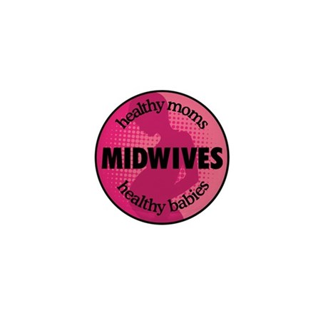 Midwives Mini Button (10 pack)