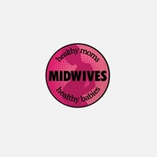 Midwives Mini Button