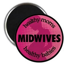 "Midwives 2.25"" Magnet (10 pack)"