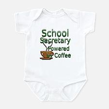 Cute Secretary school Infant Bodysuit
