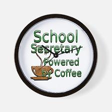 Funny School secretaries Wall Clock