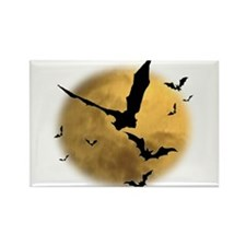 Bats in the Evening Rectangle Magnet (10 pack)