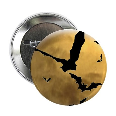 """Bats in the Evening 2.25"""" Button (100 pack)"""