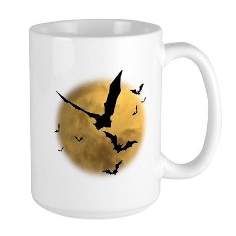 Bats in the Evening Large Mug