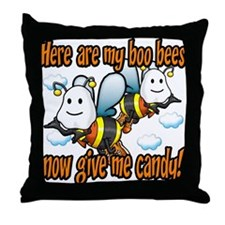 Here are my Boo Bees Throw Pillow