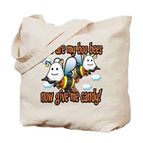 Here are my Boo Bees Tote Bag