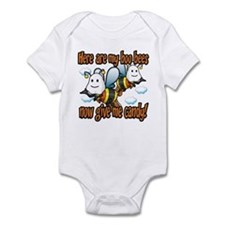 Here are my Boo Bees Infant Bodysuit