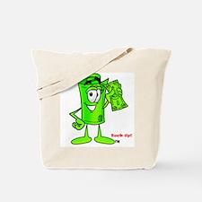 Mr. Deal - Buck Up - Dollar B Tote Bag